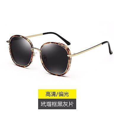 INITIALGRASS Gafas De Sol Mujer Caja Grande Gafas De Sol ...