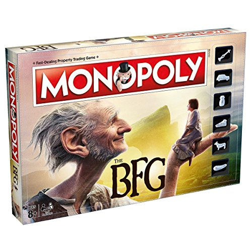 Winning Moves Games The BFG Monopoly Board Game (Best Country To Invest In Property)