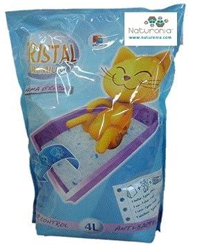 Naturonia Arena Gatos silice para arenero Gatos: Lote 4 Lx2 Unidades=8 litros: Amazon.es: Productos para mascotas