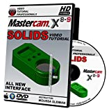 Mastercam X8-X9 SOLIDS Video Tutorial Training in HD