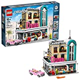 inspiring square kitchen plan LEGO Creator Expert Downtown Diner 10260 Building Kit, Model Set and Assembly Toy for Kids and Adults (2480 Piece)