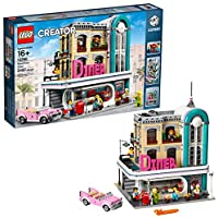 LEGO Creator Expert Downtown Diner 10260 Building Kit,...
