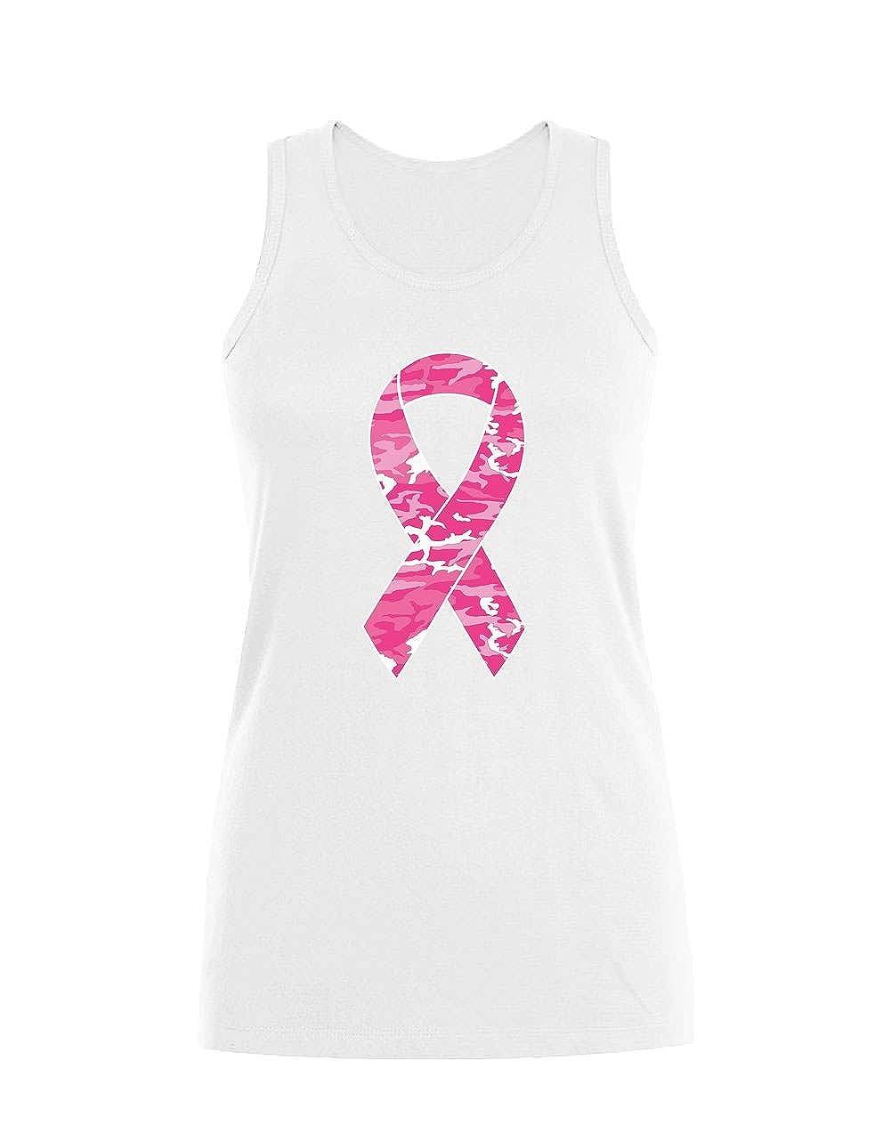Green Turtle T-Shirts Luttons Ensemble Contre Le Cancer Pink D/ébardeur Femme