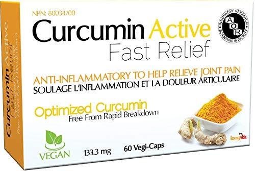 AOR SPO Curcumin Active, 60 Count