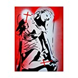 Faith by Abstract Graffiti, 35x47-Inch