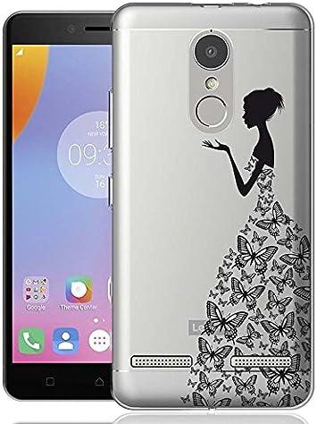 ocketcase Lenovo K6 Funda, TPU Carcasa Suave Silicona Flexible Gel Funda Resistente a los Arañazos Tapa Protectora Case Cover para Lenovo K6 de 5.0 Pulgada(Party Queen) + Gratis lápiz óptico: Amazon.es: Electrónica