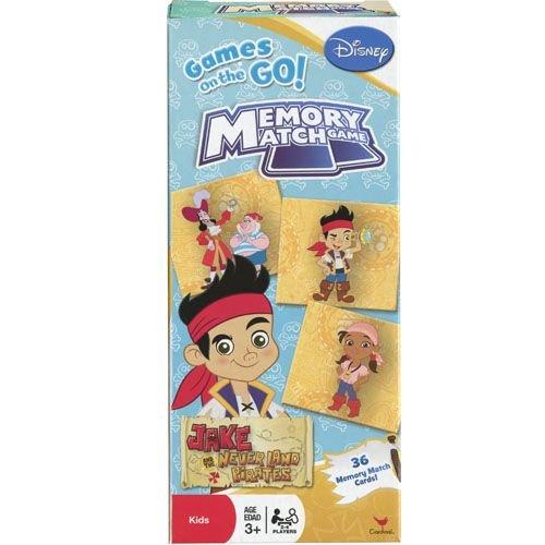 WeGlow International Disney Jake and The Neverland Pirates Tower Memory Match Games (Set of 3)]()
