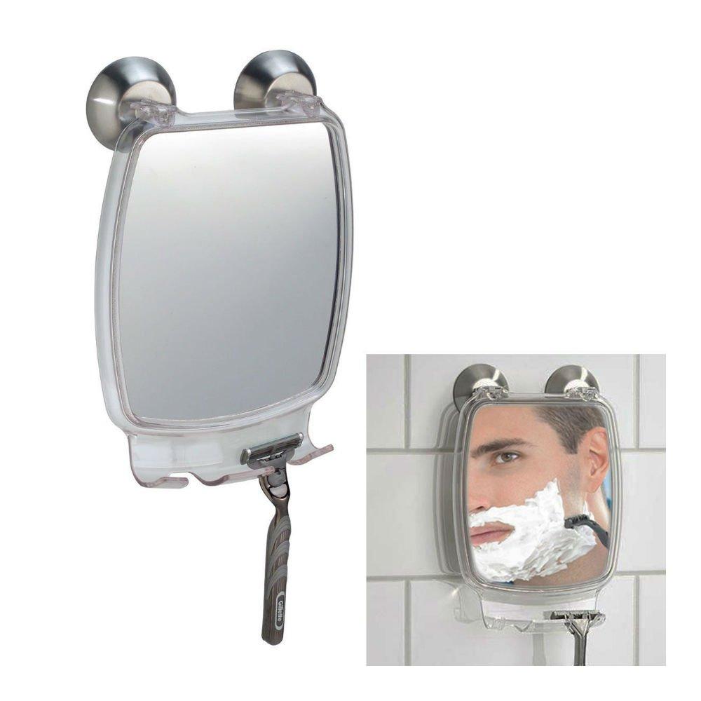 Fog Free Shower Shaving Rectangular Mirror - With Power Lock Suction Mount na