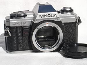 MINOLTA X-370s Manual 35MM SLR Camera ? Body Only