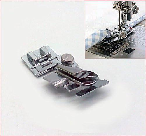 HONEYSEW SNAP ON Metal Bias Tape binder foot PARA Brother /SINGER ...