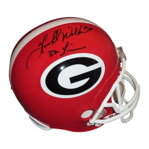 Herschel Walker Autographed Georgia Bulldogs Deluxe Full-Size Replica Helmet w/