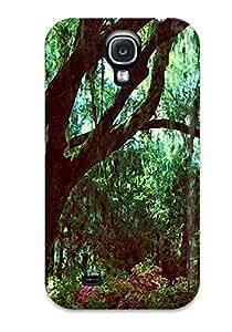 New Tpu Hard Case Premium Galaxy S4 Skin Case Cover(nature S)