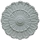Hickory Manor House HM6004 Flat Acanthus Ceiling Medallion