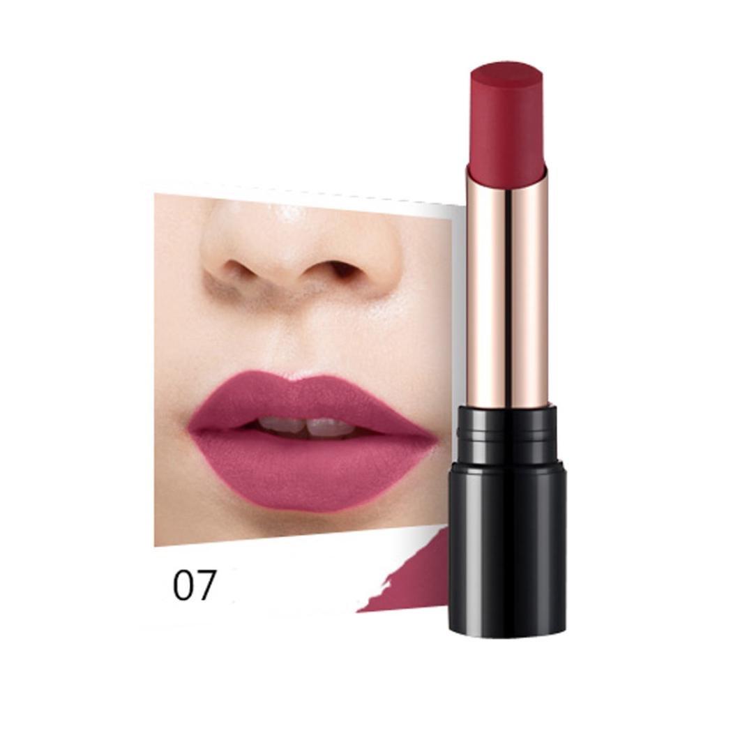 Weite Lip Gloss 8 Colors Sexy Long Lasting Madly Matte Lt Pro Longlasting Cream 07 Liquid Lipstick Beauty Makeup Cosmetics H
