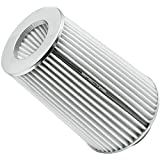 Spectre Performance 9738 White/Chrome Cone Air Filter