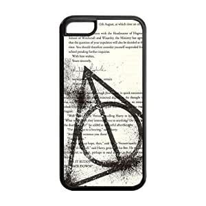 Protective TPU Rubber Coated Cell Phone Case Cover for iPhone 6 plus (5.5) - Harry Potter