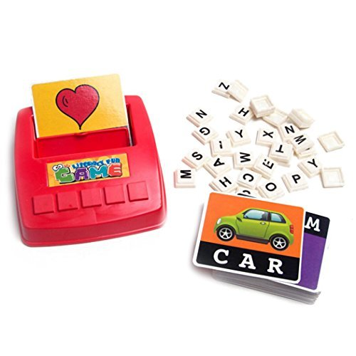 Desktop Game Remember Word Puzzle Letters With Happy Learning English Early Education Toys 2019 Official Home