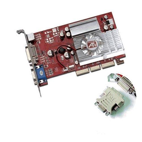 - ATI Radeon 9600XT AGP 8X 256Mb DDR Video Card 9600 XT AGP8X graphics card w/ free DVI to VGA adapter