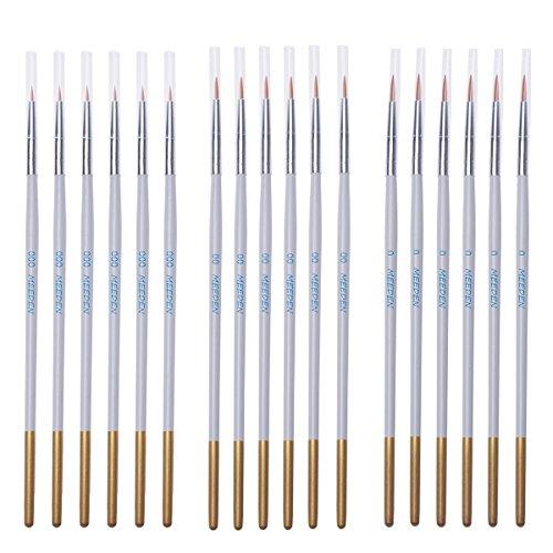 MEEDEN Detail Paint Brush Set