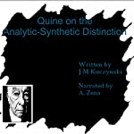 Quine on the Analytic-Synthetic Distinction | J.-M. Kuczynski