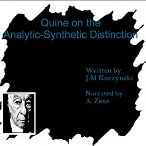 Quine on the Analytic-Synthetic Distinction Audiobook