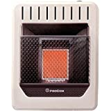 PROCOM HEATING MG1TIR 10,000 BTU Dual Fuel Vent-Free Infrared Wall Heater