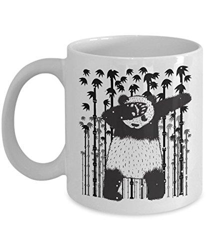 - Funny Christmas Mug - Panda Dabbing Through The Snow Funny Xmas Gift For Husband, Boyfriend, Boys, Girlfriend, Wife, Girls, Panda Dab, Panda Lovers An