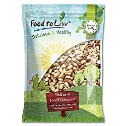Brazil Nuts, 12 Pounds – Raw, Whole, No Shell, Unsalted, Kosher, Vegan, Keto and Paleo Friendly, Bulk Brazilian Nut…