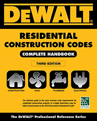 Gas Heating Boilers (DEWALT 2018 Residential Construction Codes: Complete Handbook (DEWALT Series))
