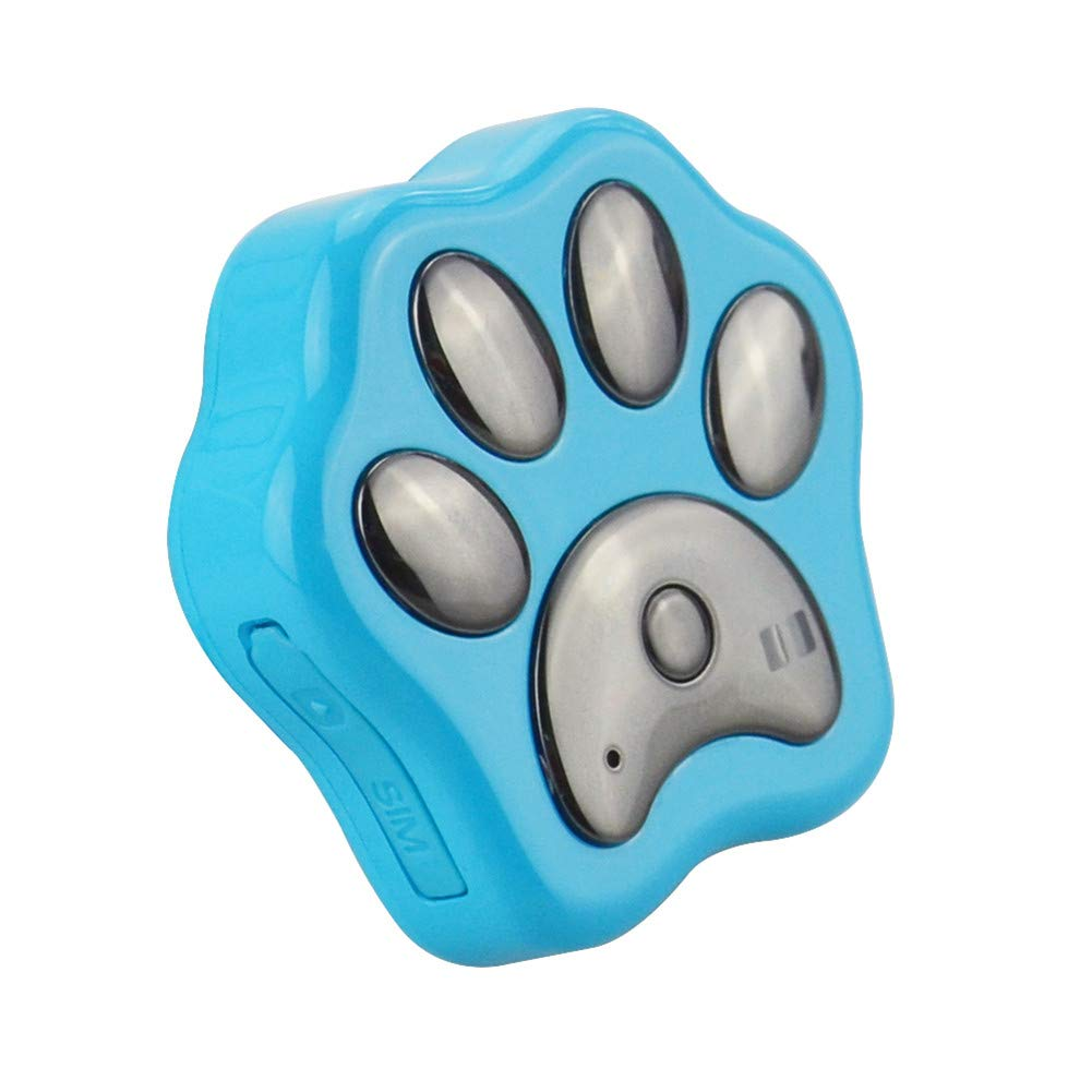 GFFG Pet GPS Tracker Dog Positioning Locator WiFi Anti-Lost Geo-Fence Real Time Waterproof IP66 Lifetime Free Web APP Tracking -Pet Dog Puppy Kitten Cat Tracking Finder Device by GFFG