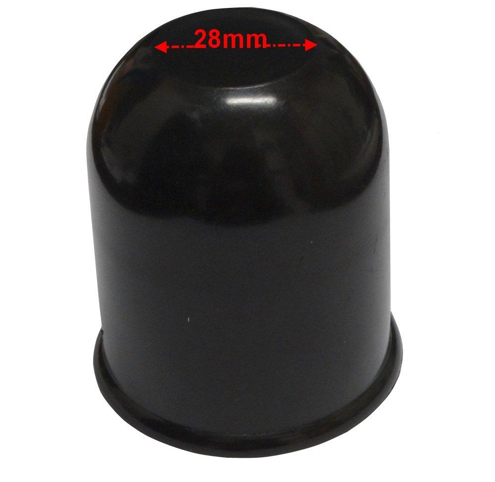 Nero Plastica Ring RCT700 Copri Palla Gancio Traino