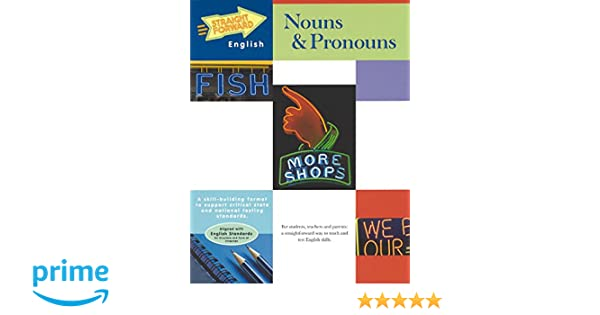 Amazon.com: Nouns & Pronouns (Straight Forward English Series ...