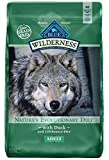 Blue Buffalo Wilderness High Protein Grain Free, Natural Adult Dry Dog Food, Duck 11-Lb For Sale