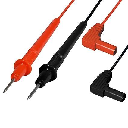 Multimeter Messleitungen Test Kabel Messleitungen Multimeter Zubehör,5 Farbe