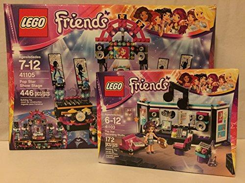 Lego Friends Pop Star Show Stage & Lego Friends Pop Star ...