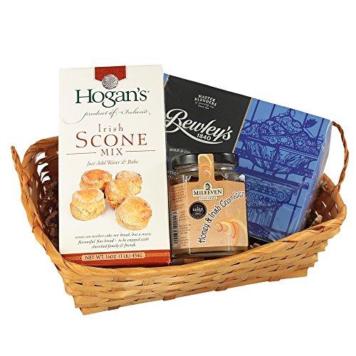 Irish Afternoon Tea Gift Basket, Tea & Scones Gift Basket