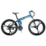 Mountain Bike 26 Inches Mag Wheel Dual Suspension Folding Bike 21 Speed Shimano Gears MTB Bicycle