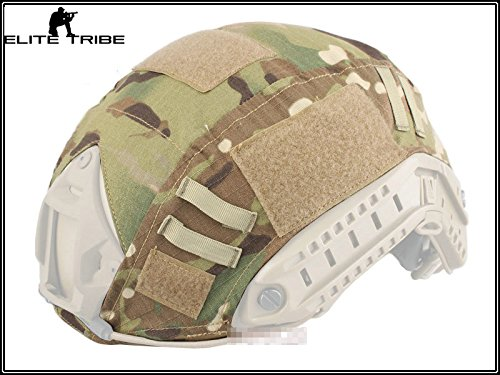 Military Army Tactical Series Airsoft Paintball Hunting Shooting Gear Combat Fast Helmet Cover Multicam MC Color by Paintball Equipment