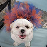 Orange and Blue Dog Tutu