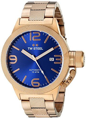 TW Steel Men's CB185 Analog Display Quartz Rose Gold Watch