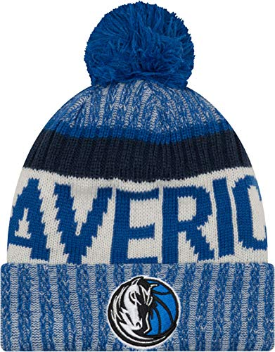 New Era Dallas Mavericks 2017 Sport Knit Cap (Dallas New Era Beanie)