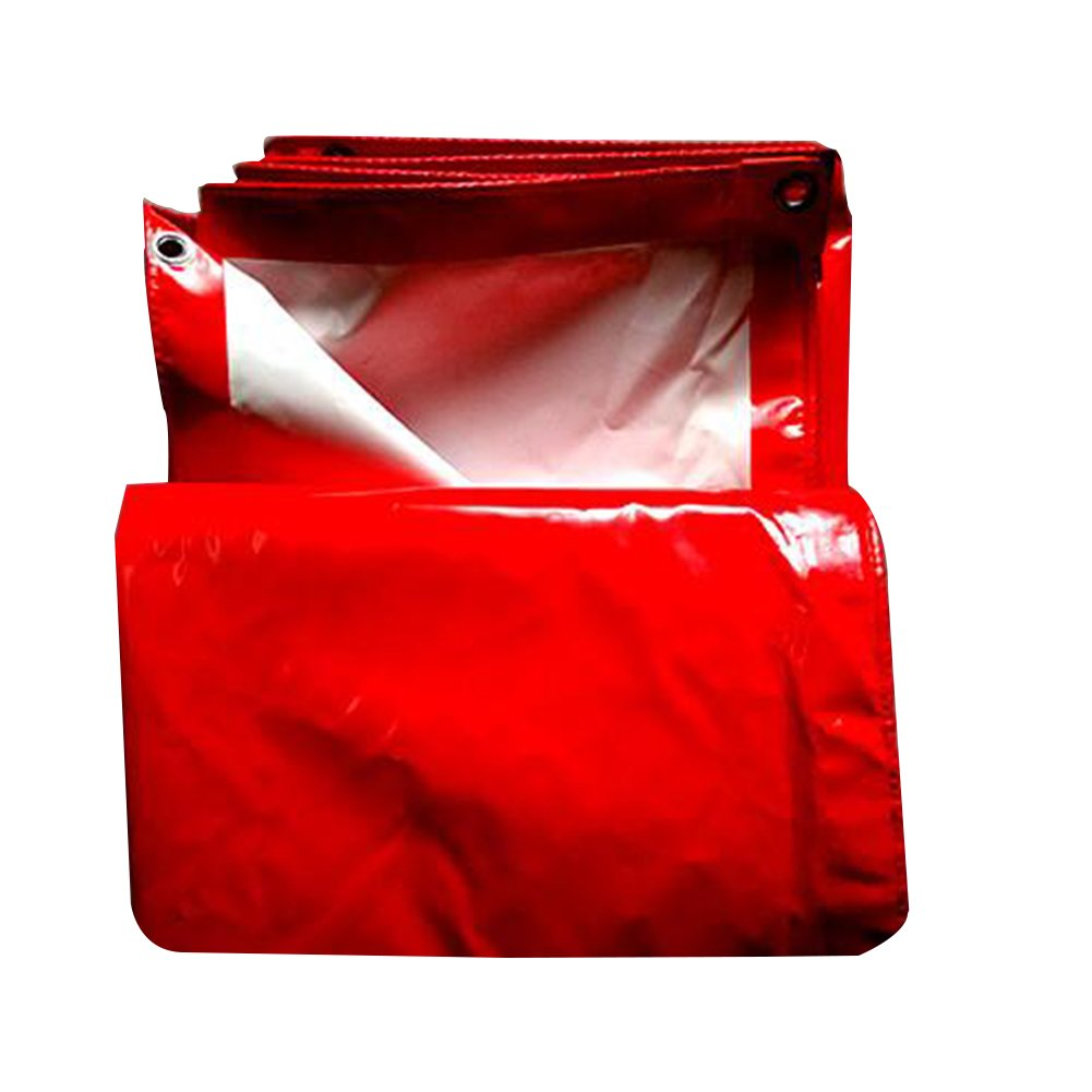 QIANGDA タープ オーニング 防水 防塵の 日焼け止め 車 杼口 耐食性 耐高温性 抗酸化、 PVC、 2色展開 厚さ0.65mm、 650g/m 2、 オプションの5サイズ キャノピー (色 : 赤, サイズ さいず : 5x6M) B07CYT8X2C 5x6M|赤 赤 5x6M