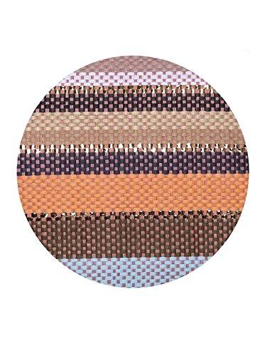 Peach Shoulder Multi Bag Peach Multi Stripe Summer Shopper Tote or Bags Stripe Beach Canvas Reusable Metallic Bag Womens Large Holiday tO1qU1aF