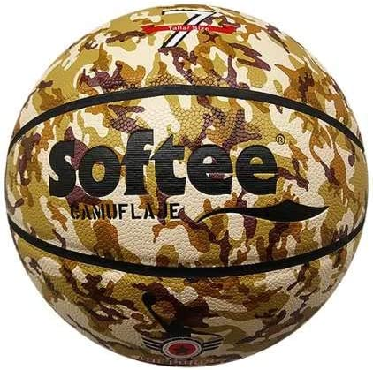 Balon Baloncesto Cuero Softee Camuflaje - Talla 7 - Color Marron ...
