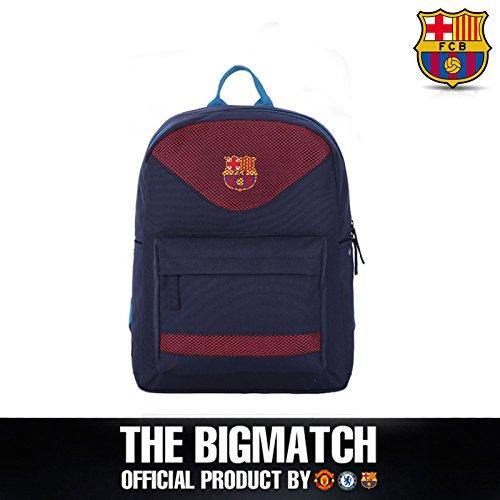 FC Barcelona Outdoor Backpack School Book Bag Backpack FCB-BP5S07+Sackpack