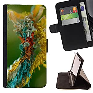 DEVIL CASE - FOR Sony Xperia Z1 Compact D5503 - Micro object - Style PU Leather Case Wallet Flip Stand Flap Closure Cover