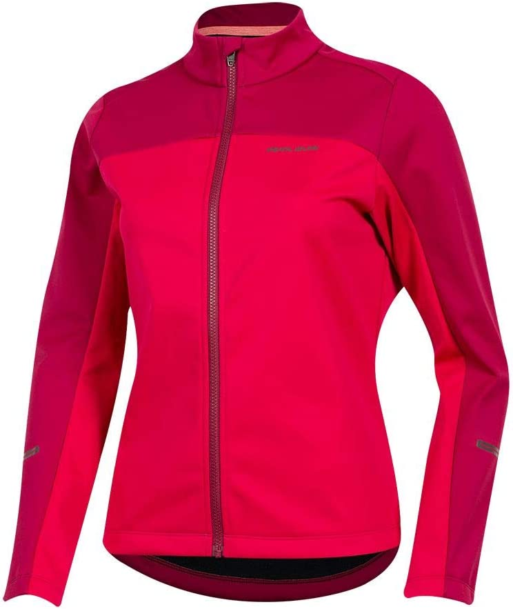 PEARL IZUMI Womens Quest AmFIB Jacket Cerise//Beet Red Medium