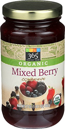 - 365 Everyday Value, Organic Mixed Berry Conserve, 17 oz