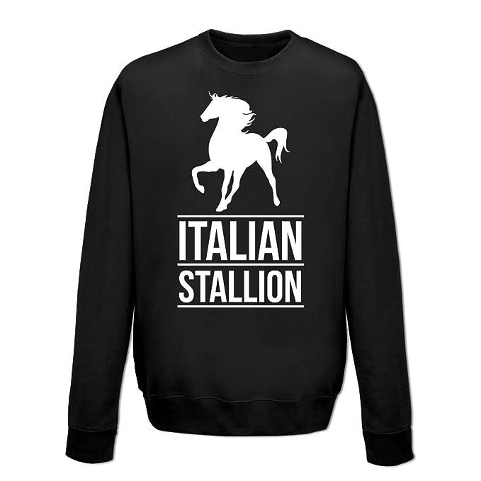c8275878f8f81 Shirtcity Sudadera Italian Stallion by  Amazon.es  Ropa y accesorios