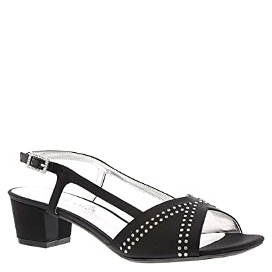 a30d174b8d272 Amazon.com | David Tate Womens Wish Fabric Open Toe Special Occasion ...